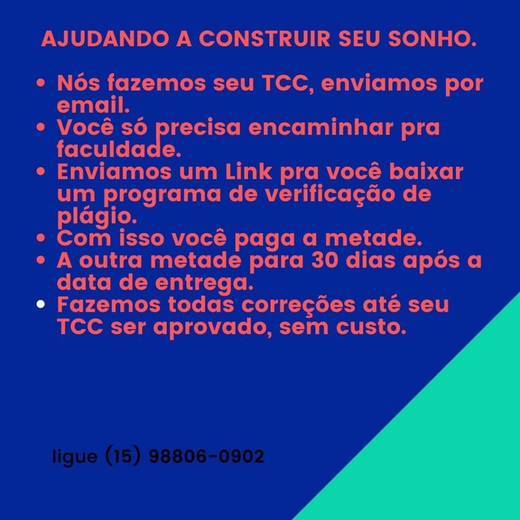 Comprar TCC em Porto Alegre - Pagamento após a entrega.