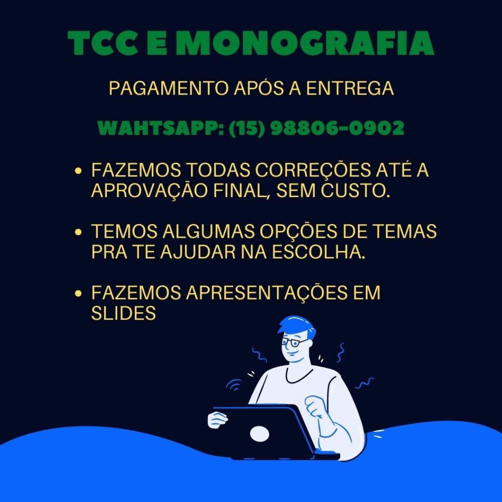 Comprar TCC em Joinville - Pagamento após a entrega